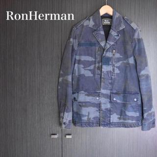 ロンハーマン(Ron Herman)の【 R.H.VINTAGE】ロンハーマン 迷彩ジャケット カモフラ(Gジャン/デニムジャケット)