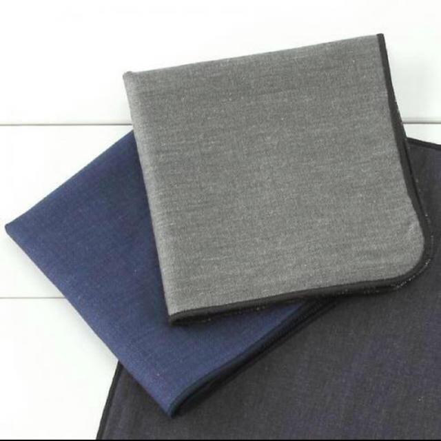 メンズハンカチ 3 メンズのファッション小物(ハンカチ/ポケットチーフ)の商品写真