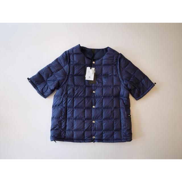 Engineered Garments(エンジニアードガーメンツ)の新品未使用 TAION EXTRA タイオンエクストラ インナーダウン ネイビー メンズのジャケット/アウター(ダウンジャケット)の商品写真