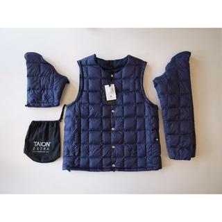 エンジニアードガーメンツ(Engineered Garments)の新品未使用 TAION EXTRA タイオンエクストラ インナーダウン ネイビー(ダウンジャケット)