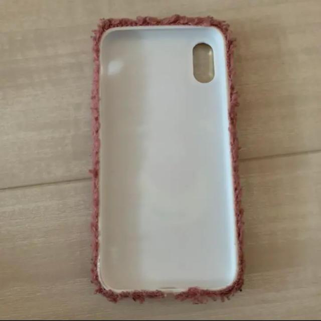 iPhonex/xsケース モコモコケース スマホ/家電/カメラのスマホアクセサリー(iPhoneケース)の商品写真