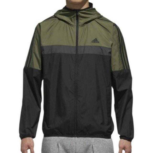adidas(アディダス)のアディダス  カラーブロックウインドパーカー スポーツ/アウトドアのランニング(ウェア)の商品写真