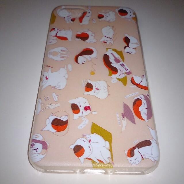 夏目友人帳ニャンコ先生iPhoneアイフォン7・8ケース スマホ/家電/カメラのスマホアクセサリー(iPhoneケース)の商品写真