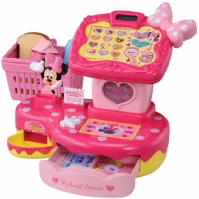 Disney(ディズニー)のトゥーンタウンミニーマウス なんでもスキャン♪ タッチパネルレジスター キッズ/ベビー/マタニティのおもちゃ(知育玩具)の商品写真
