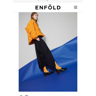 ENFOLD - エンフォルドenfoldデザインスカート