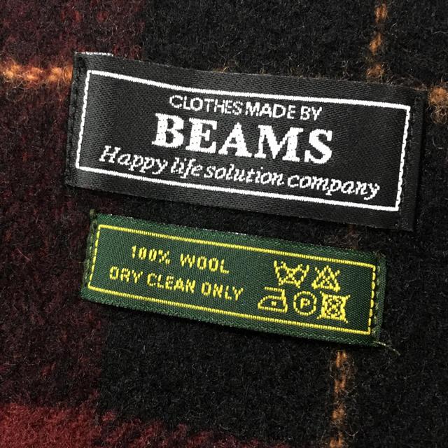 BEAMS(ビームス)の【期間限定価格】ビームスのリバーシブルマフラー レディースのファッション小物(マフラー/ショール)の商品写真
