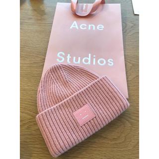 アクネ(ACNE)のacne studios アクネストゥディオズニット帽美品(ニット帽/ビーニー)