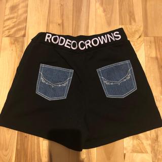 ロデオクラウンズワイドボウル(RODEO CROWNS WIDE BOWL)のロデオクラウンズ スエットショートパンツ(ショートパンツ)