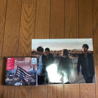 Traveler【初回限定盤LIVE DVD盤】(ポップス/ロック(邦楽))