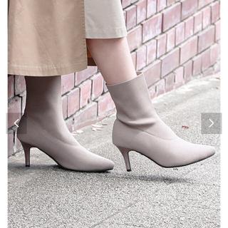 コウベレタス(神戸レタス)の🌸🌸値下げ‼️新品完売品 ソックスブーツ(ブーツ)