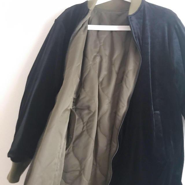 OPENING CEREMONY(オープニングセレモニー)の本日限定価格☆opening ceremony リバーシブルMA-1 レディースのジャケット/アウター(ロングコート)の商品写真