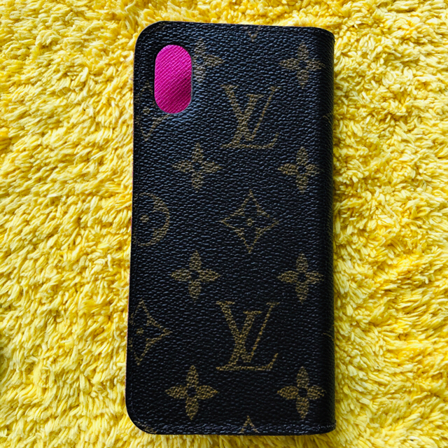LOUIS VUITTON - iPhone X LOUIS VUITTON スマホカバー 正規品の通販