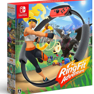 ニンテンドースイッチ(Nintendo Switch)の リングフィット アドベンチャー -Switch(家庭用ゲームソフト)