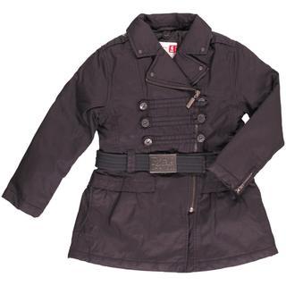 ボンポワン(Bonpoint)の美品●フランスDPAM 10ANS キルトコート ベルト付140cm〜150cm(ジャケット/上着)