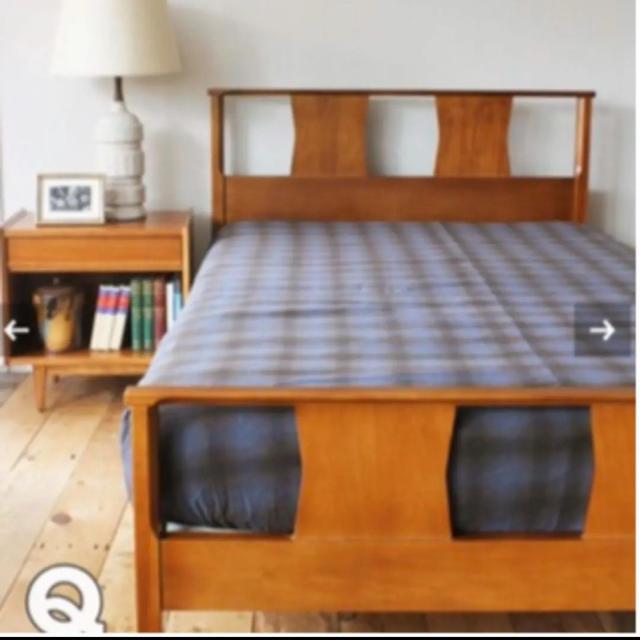 JOURNAL STANDARD(ジャーナルスタンダード)のACME furniture チェック ボックスシーツ セミダブル インテリア/住まい/日用品の寝具(シーツ/カバー)の商品写真