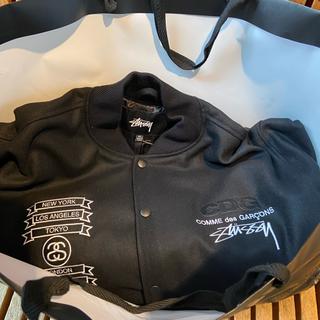 コムデギャルソン(COMME des GARCONS)の【確実正規】stussy cdg varsity jacket XL(スタジャン)