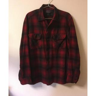 ペンドルトン(PENDLETON)の50s  ペンドルトン ビンテージ シャードチェックシャツ(シャツ)