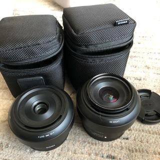 シグマ(SIGMA)のSIGMA eマウント 単焦点レンズ セット(ミラーレス一眼)