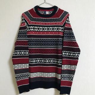 エイチアンドエム(H&M)のH&M ノルディック柄セーター(ニット/セーター)
