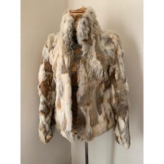 チュー(CHU XXX)のラビットファ コート ジャケット(毛皮/ファーコート)