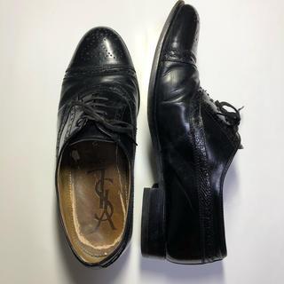 サンローラン(Saint Laurent)のメンズ ビジネスシューズ 黒(ドレス/ビジネス)