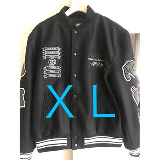 COMME des GARCONS - STUSSY x CDG Varsity Jacket XL