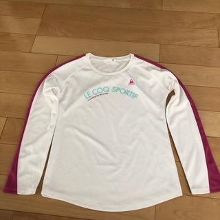 ルコックスポルティフ(le coq sportif)のスポーツ用長袖Tシャツ(ウェア)