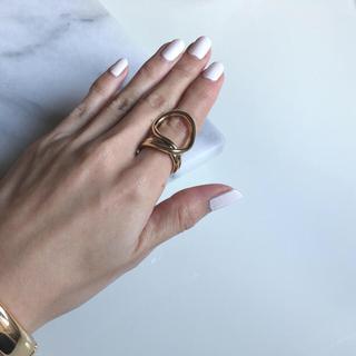 ドゥーズィエムクラス(DEUXIEME CLASSE)のdeformation O ring gold #6(リング(指輪))