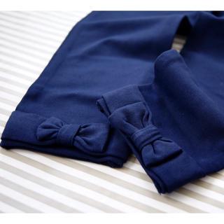 ラルフローレン(Ralph Lauren)のラルフローレン  POLO レギンス リボン 110センチ(パンツ/スパッツ)