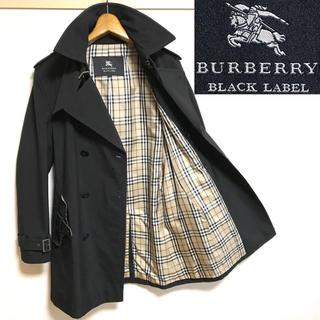 バーバリーブラックレーベル(BURBERRY BLACK LABEL)の希少!BURBERRY バーバリーブラックレーベルノバチェック トレンチコート (トレンチコート)