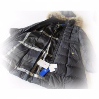 BURBERRY BLUE LABEL - 新品タグつき★Mサイズ★バーバリーロングダウンジャケットコート
