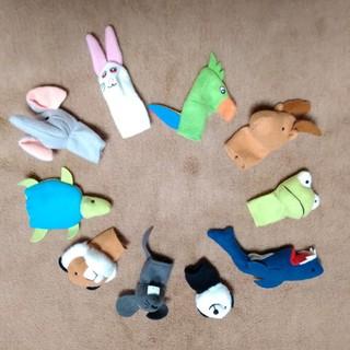 IKEA - イケア 指人形 10ピース