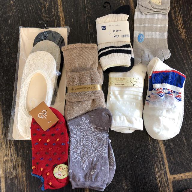 tutuanna(チュチュアンナ)の靴下 ソックス8点まとめ売り レディースのレッグウェア(ソックス)の商品写真