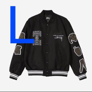 GDC - stussy CDG Varsity Jacket