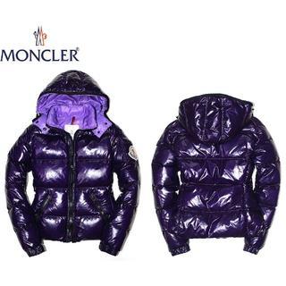 モンクレール(MONCLER)の正規品MONCLERモンクレール/ダウンジャケット/パープル/00(ダウンジャケット)