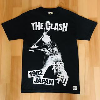 THE CLASH 権利 Tシャツ ブラック 黒 バンドT 初期パンク パンク (ミュージシャン)