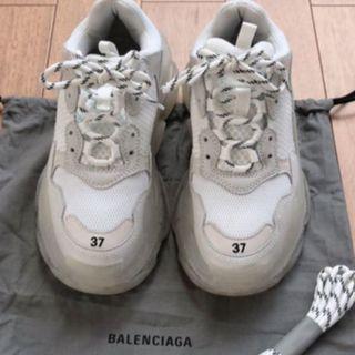 バレンシアガ(Balenciaga)のBALENCIAGA TRIPLE Sトリプルクリアソール 37(スニーカー)