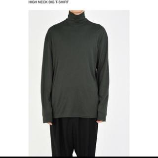 LAD MUSICIAN - HIGH NECK BIG T-SHIRT 19aw 新品