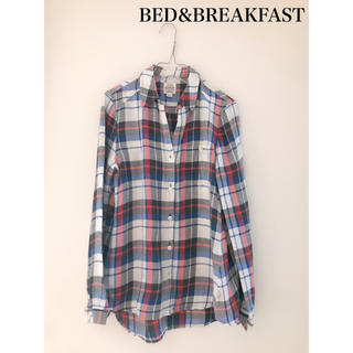 ベッドアンドブレックファスト(BED&BREAKFAST)の【値下げ】BED&BREAKFAST  バラエティチェックシャツ(シャツ/ブラウス(長袖/七分))