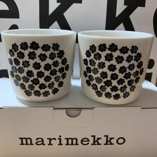 marimekko - マリメッコPuketti ラテマグ 2個(ハンドルなし) 新品箱付き