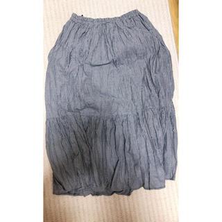 テチチ(Techichi)の千鳥柄 プリーツスカート(ひざ丈スカート)
