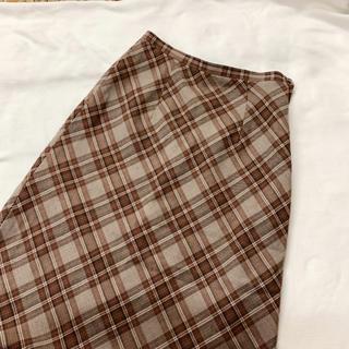 Lochie - vintage チェック柄のクラシカルレトロスカート