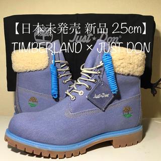 Timberland - 【Timberland 新品】25cm ティンバーランド×JUST DON