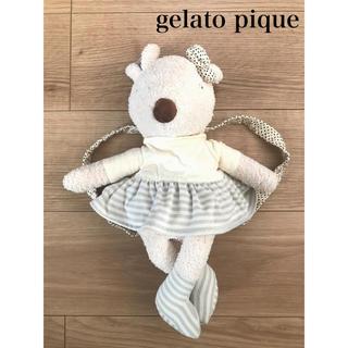 gelato pique - gelato pique ジェラートピケ ぬいぐるみ リュック