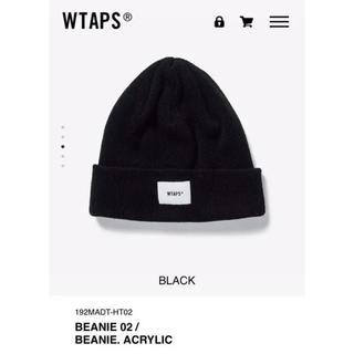 ダブルタップス(W)taps)のwtaps beanie 02 ブラック(ニット帽/ビーニー)