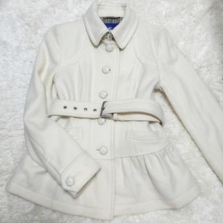 バーバリー(BURBERRY)のBURBERRY 裾フリル コート(ロングコート)