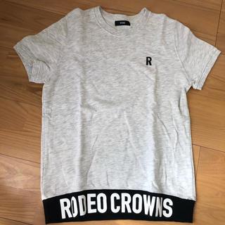 ロデオクラウンズ(RODEO CROWNS)のロデオ✩.*˚Tシャツ スウェット生地(Tシャツ(半袖/袖なし))
