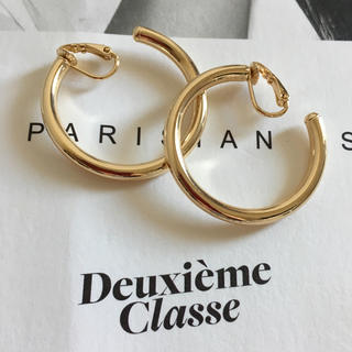 IENA - ★新品 DEUXIEME CLASSE ドゥーズィエムクラス フープイヤリング