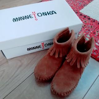 ミネトンカ(Minnetonka)のMINNETONKA ブーツ size7(ブーツ)
