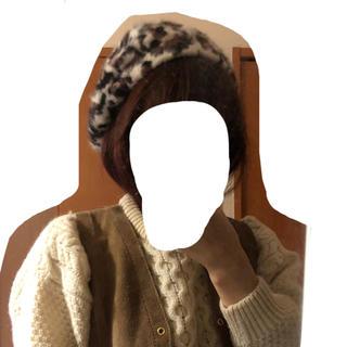 ロキエ(Lochie)のleopard béret(ハンチング/ベレー帽)